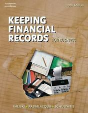 Keeping Financial Records for Business, Passalacqua, Daniel, Schultheis, Robert,