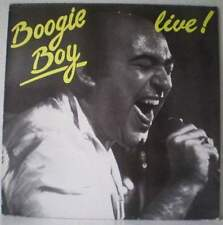 BOOGIE BOY Live ! RARE LP 1986 blues-rock BELGIUM