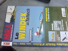 $$u Revue MRA N°750 Plan encarte Forty  Windex  Dauphin N 2  Tiger Moth