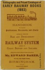 Early Railway Books - Cotterell's 1893 Bibliography and Catalogue, 1969 edition