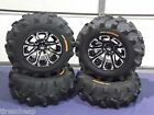 "25"" HONDA RUBICON EXECUTIONER ATV TIRE & WHEEL KIT COMPLETE SS3"