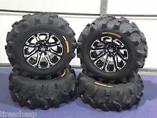 "25"" HONDA RANCHER ( SRA ) EXECUTIONER ATV TIRE & WHEEL KIT COMPLETE SS3"