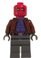 Lego RED HOOD Custom Printed Minifig DC Batman Superhero Villain Jason Todd
