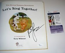 Peter Yarrow Signed Let's Sing Together With CD Hardcover BOOK First Edition JSA