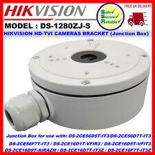 Hikvision DS-1280ZJ-S Junction Box for DS-2CExx/2CDxx IP/HD-TVI Bullet Cameras