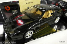 BURAGO 1/18 - 3340 FERRARI 550 MARANELLO 96 AIRBRUSH ULTIMATE WINNER 625 OF 1500