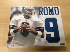 """Tony Romo Jersey Number Collectible Canvas Picture 11"""" x 9"""" (BuyMVP)"""