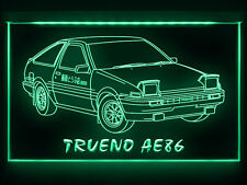 AC156 B 1983 Toyota Trueno AE86 LED Light Sign
