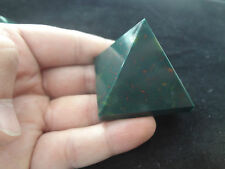 Natural Bloodstone Pyramid