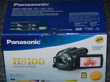 Panasonic hdc hs100 * 60 GB * videocámara-negro nuevo del distribuidor