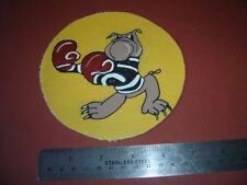 WWII USMC FIGHTING 223 VMF-223 DISNEY BOXING BULLDOG FLIGHT JACKET PATCH