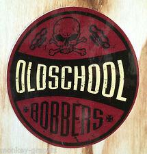 Biker & Harley Vintage Sticker Oldschool Bobbers Aufkleber US Cars USA 0158
