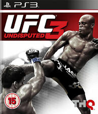 Ufc 3 indiscutible ~ Ps3 (en Perfectas Condiciones)