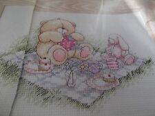FOREVER FRIENDS Picnic cross stitch chart # 382