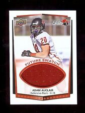ADAM AUCLAIR - Champlain Regional H.S. 2015 USA Football GU *FUTURE SWATCH* RC