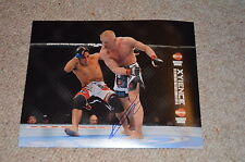 DENNIS SIVER signed autograph In Person 8x10 (20x25 cm) UFC MMA german fighter