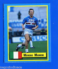 TOP MICRO CARDS - Vallardi 1989 - Figurina-Sticker - MANNINI - SAMPDORIA
