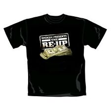 Rare Bravado Offi. EMINEM Present the RE-UP Hip Hop Rap Dollar Money T-Shirt M