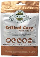 OXBOW Critical Care Fine Grind Animal Pet Supplement Complete Assist Feeding