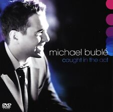 BUBLE MICHAEL - COUGHT IN THE ACT - CD + DVD NUOVO