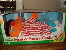 """NIB 1996 Sing & Snore Ernie Tyco Sesame Street Vintage 15"""""""