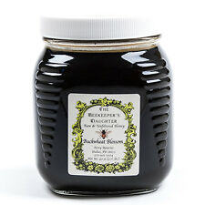 Raw Buckwheat Honey by the Beekeeper's Daughter - 2.5 lb Jar (2.5 pound)