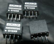 4 x Murata NME0505SC 5V DC to DC convertor 5V 200mA isolated output