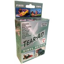 Tear Aid Kit Vinyl Inflatable Repair Tent Chair Rip Fix Leather Couch Patch Tape
