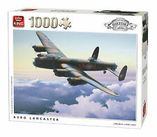 NEW! King History Collection Avro Lancaster 1000 piece war plane jigsaw puzzle