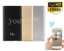 1080P HD WiFi Spy Hidden Camera 5000MA Power Bank IR Night Vision P2P Camcorder