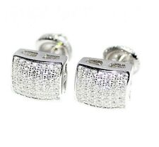 0.25TCW Certified 10kt White Gold Real Natural Round Single Cut Diamonds Earring