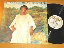 "1976 SOUTH AFRICAN LP - LETTA MBULU - A&M 4609 - ""THERE'S MUSIC IN THE AIR"""