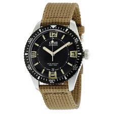 Oris Divers Sixty-Five Black Dial Automatic Mens Watch 733-7707-4064BRFS