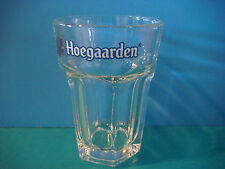 BEER Brewery Taster Glass:  Hoegaarden 15 cl Mini Belgian Hexagonal Tumbler