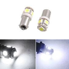 2Pcs BA9S 5 SMD Pure White 5050 T4W 5 LED Car Light Bulb Lamp Hot Sale