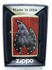 "Zippo ""Leather Flame"" - Neuf & Emballage D'origine - #602"