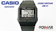 VINTAGE CASIO DB-31-1Z DATA BANK MODULO 871 AÑO 1987 -SIN CAJA-