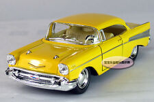 New 1:40 Chevrolet 1957 Wecker Alloy Diecast Car Model Toys Vehicle Yellow 392