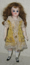 Antique All Bisque French Mignonette Doll - Swivel Neck