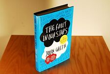 The Fault in Our Stars by John Green (2012 Hardcover DJ 1st/1st LN/VG+ w/ DVD)