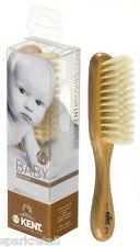 Kent Small Wood Natural Pure Bristle Baby HAIR BRUSH For Baby/Babies BA10