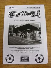 13/03/2014 The Football Traveller Magazine: Vol 27 Issue 29 (Cover Picture: Flin
