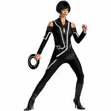 NEW! TRON QUORRA DELUXE M 8-10 Sexy Adult Women's DISGUISE Future ISO Costume