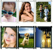 Personalized Photo iPad 2 3 4 Custom Picture on TPU Hard Case Cover BLACK/WHITE