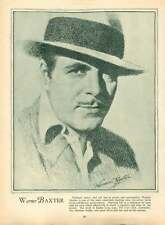 1937 Warner Baxter The Cisco Kid