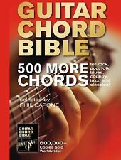 The Guitar Chord Bible: 500 More Chords by Phil Capone (2015, Hardcover)