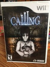 The Calling Wii New Sealed Horror Game Nintendo Hudson