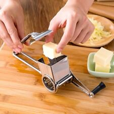 Rotary Kitchen Craft Stainless Steel Cheese Grater Slicer Shred Peeler