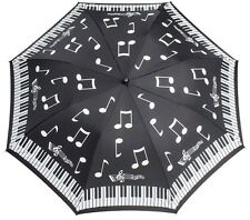 Soake Everyday Collection - Piano Notes Folding Compact Umbrella