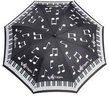 Soake Everyday Collection - Piano Notes Folding Compact Umbrella